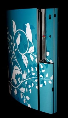 Spice Up Your PS3 With a Floral or Twitter-Inspired Decal