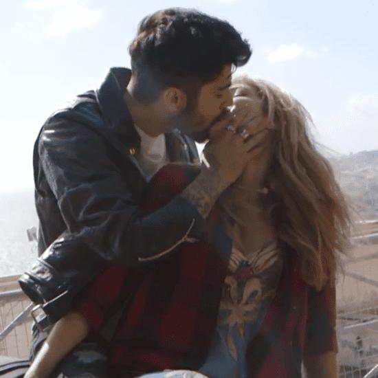 Gigi Hadid and Zayn Malik Behind-the-Scenes Vogue Video