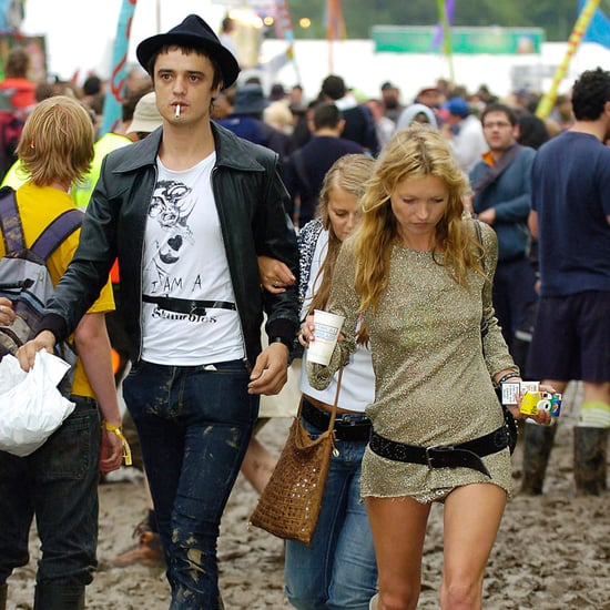 British Celebrity Style at Glastonbury Festival