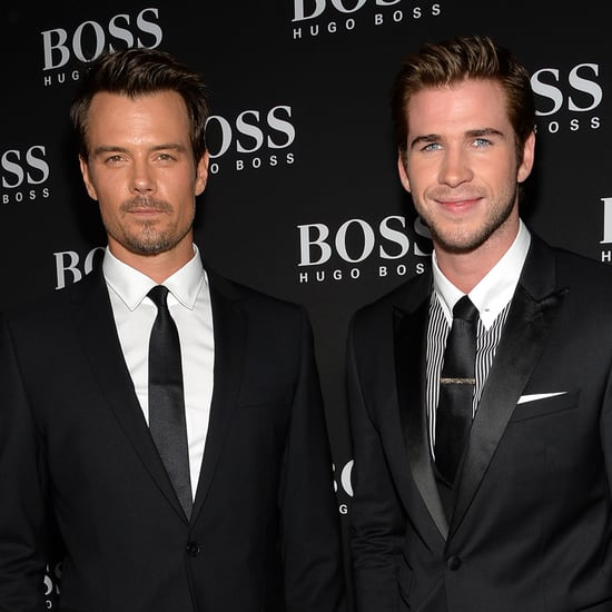 Liam Hemsworth and Josh Duhamel at Hugo Boss Event