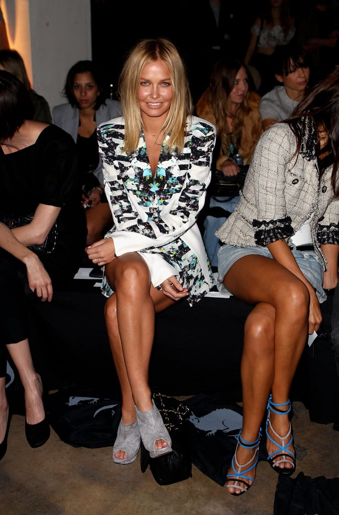 Lara Bingle at Ksubi in 2010.