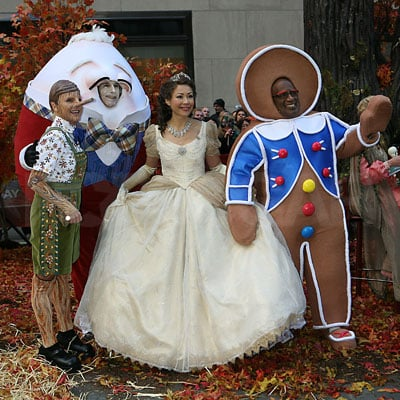 Al Roker, Ann Curry, Matt Lauer and Meredith Vieira In Costume