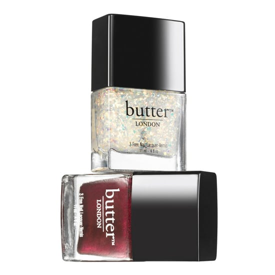This Butter London Double Take Fire Duo  ($24) has two fashionable but festive colors that look good on anyone. And if she flexes her nail-art muscles, even better!