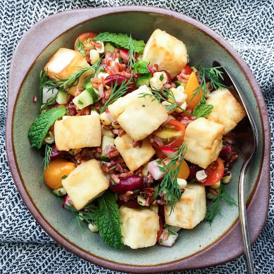 Red Rice Tofu Salad Recipe