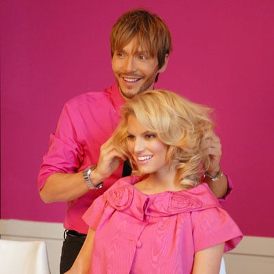 Jessica Simpson and Ken Paves Promote Hairdo