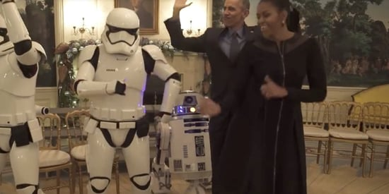 Obamas Get Funky On May The Fourth With Some Help From R2-D2 And Stormtroopers