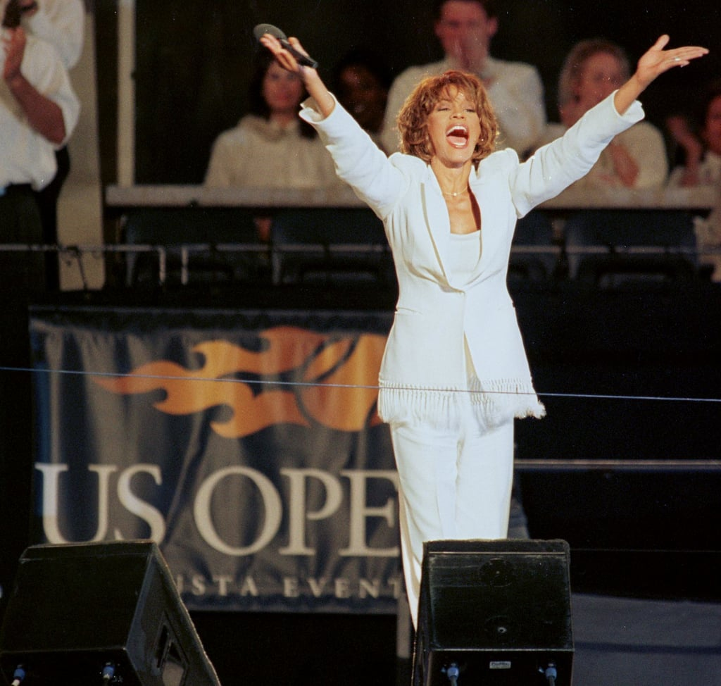 Whitney sang at the US Open in Flushing Meadows, NY in 1997.