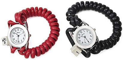 Telephone Cord Watch