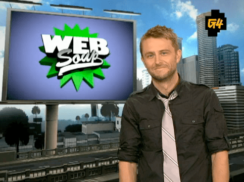 Chris Hardwick Hosts Viral Video Roundup Show Web Soup on G4 Network