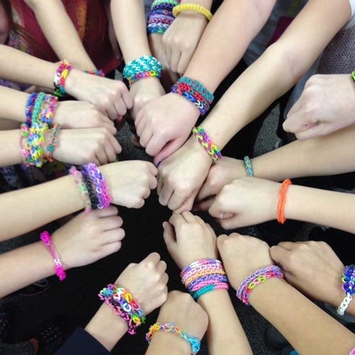 Rainbow Loom Birthday Party Ideas