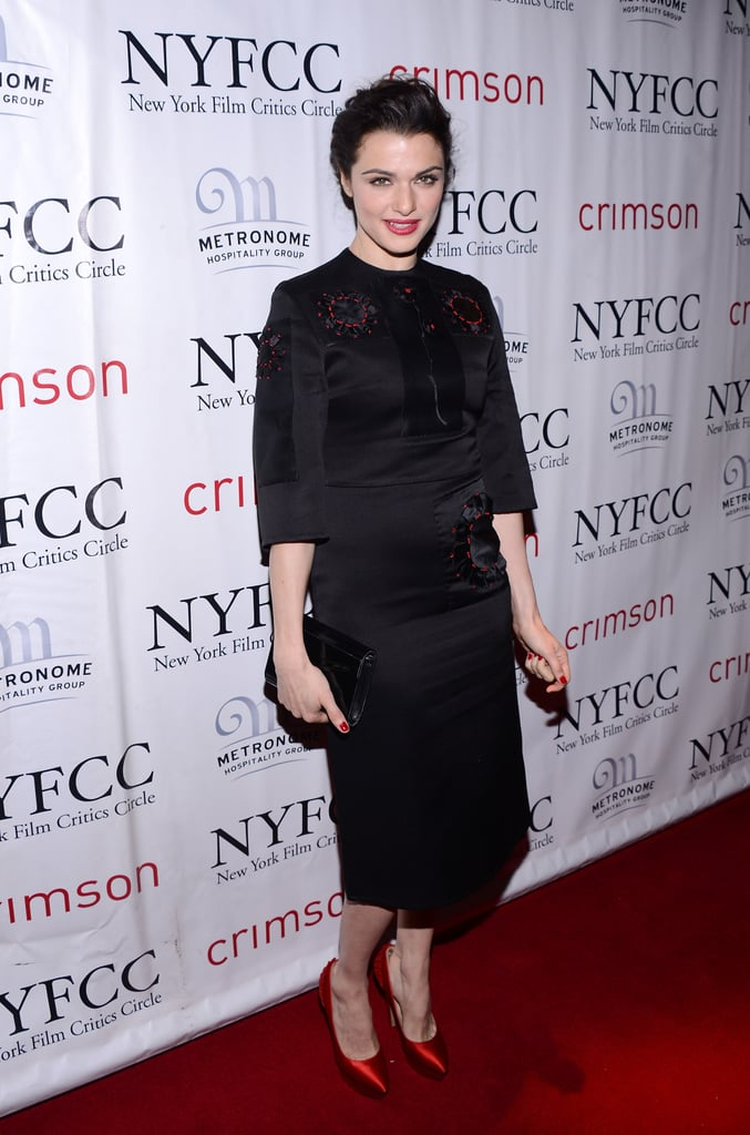 Rachel Weisz attended the NY Film Critics Circle Awards.