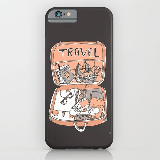 Get packing with this adorable iPhone case ($35).