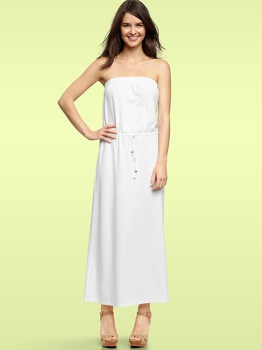 Gap Strapless Maxi Dress ($70)