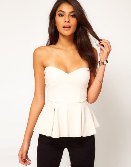 You could easily wear this ASOS Extreme Peplum Top ($42) to a Summer wedding —just add a printed pencil skirt and metallic heels.
