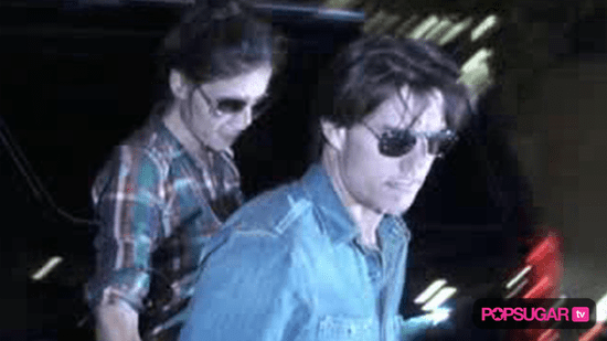 Video of Tom Cruise Interview About Suri Cruise