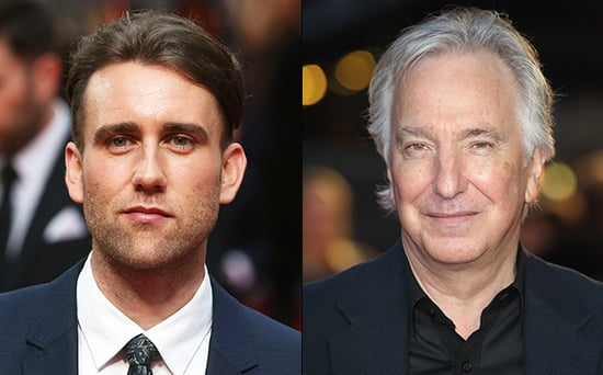 FROM EW: Harry Potter Star Matthew Lewis Remembers Alan Rickman