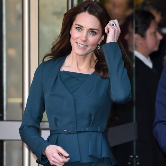 Kate Middleton Wearing Green L.K.Bennett Suit