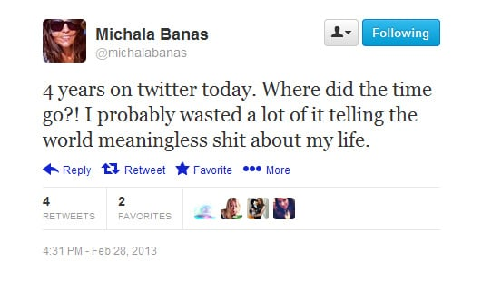 That's kind of the point, isn't it, Michala?
