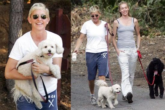 Photos of Portia de Rossi and Ellen DeGeneres