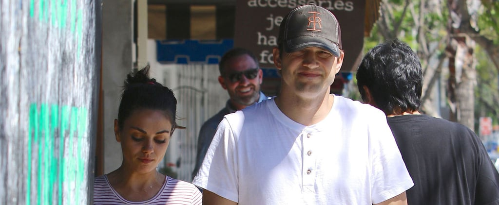 Mila Kunis and Ashton Kutcher Have a Sweet Ice Cream Date in LA
