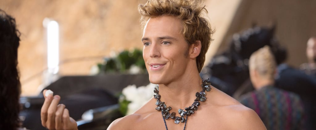 These Shirtless Pictures of Sam Claflin Are So Hot, They Could Catch Fire