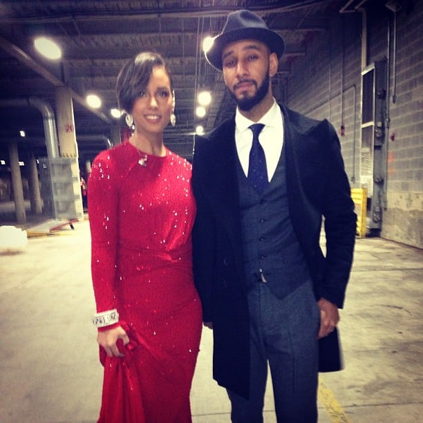 Alicia Keys and Swizz Beatz attended the Inaugural Ball in style. Source: Instagram user aliciakeys