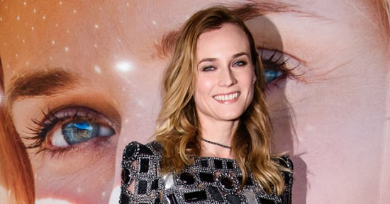 Diane Kruger Displays Her Mile-Long Legs in a Sexy Metallic Mini