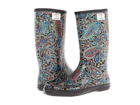 Prepare for rainy days with the cutest Libpop printed rain boots from Aigle ($81).