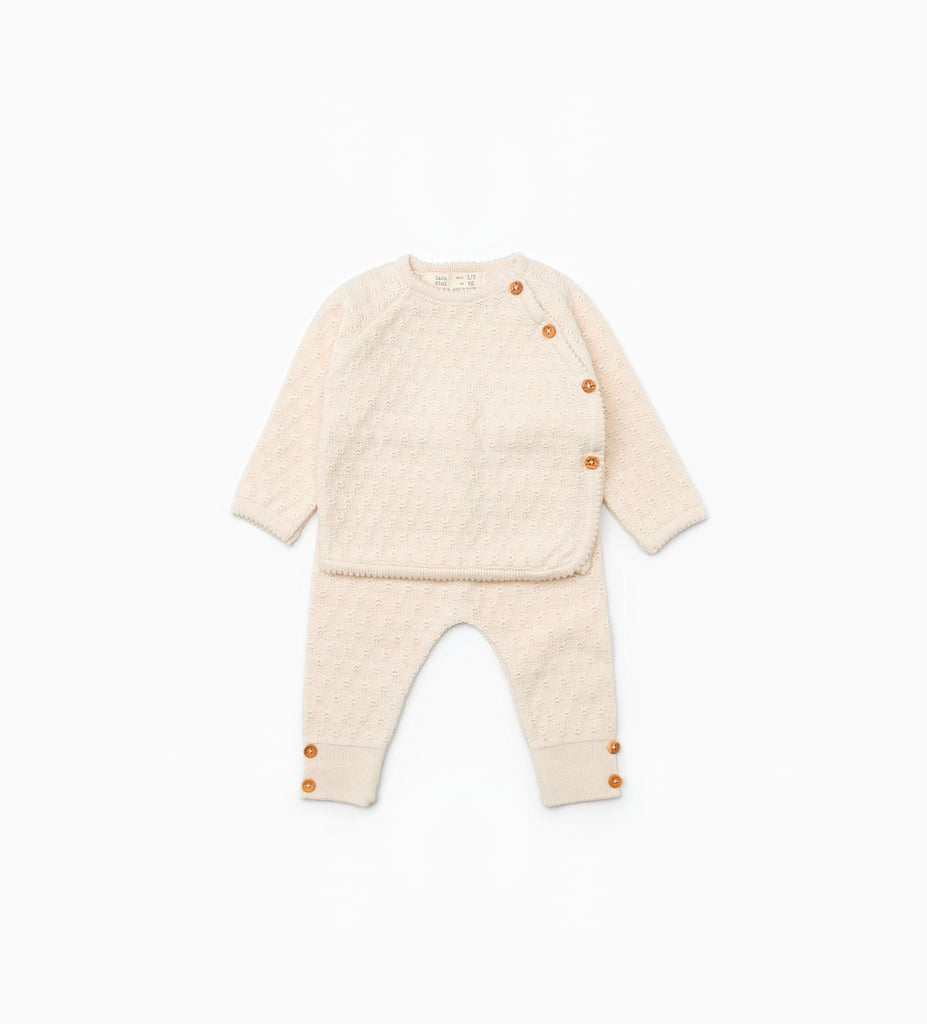 Zara Mini Silk Cotton Set