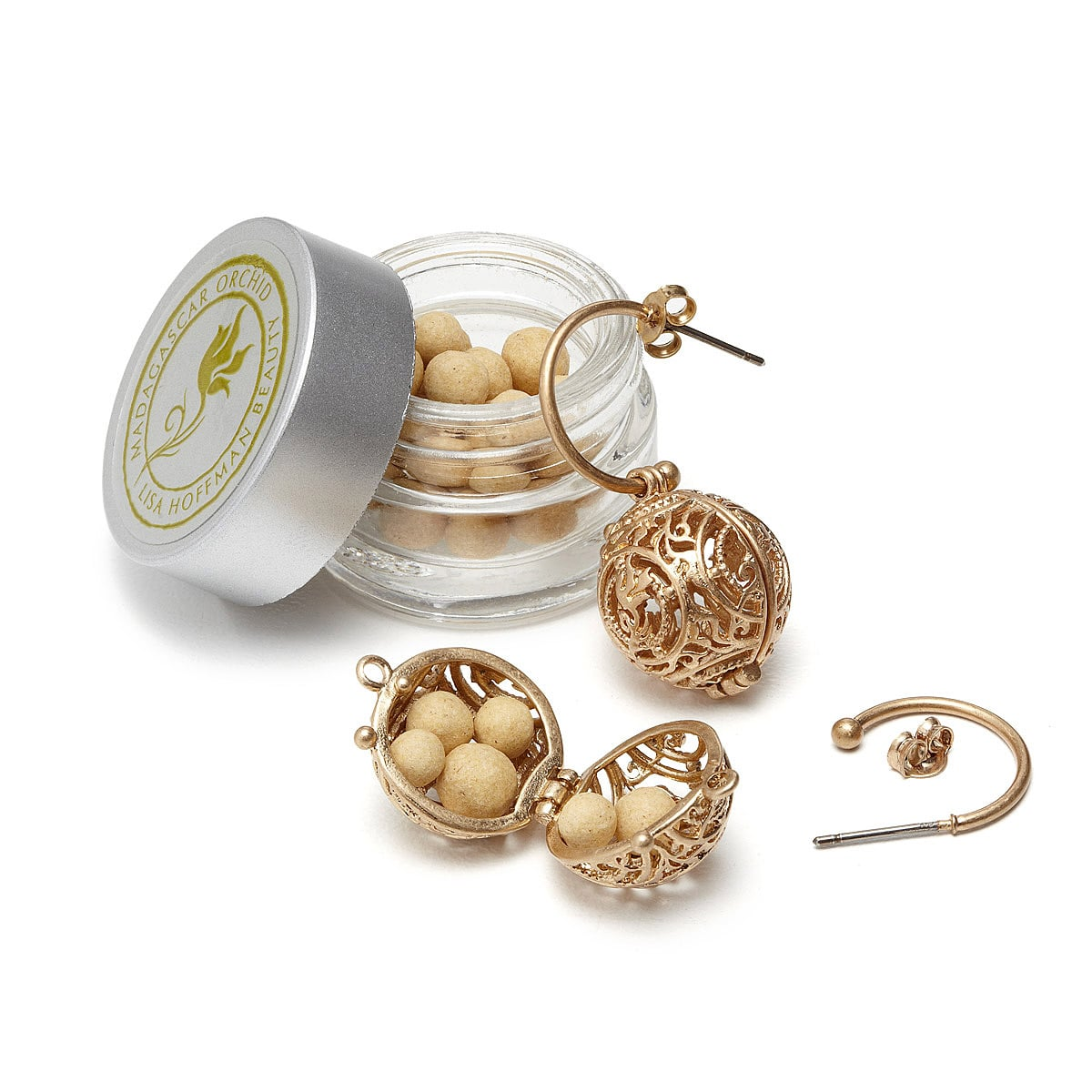 Lisa hoffman fragrance earrings you 39 re going to want to for How to make scented jewelry