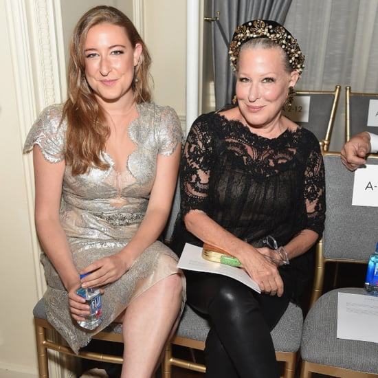 Bette Midler and Daughter NYFW 2015 Pictures