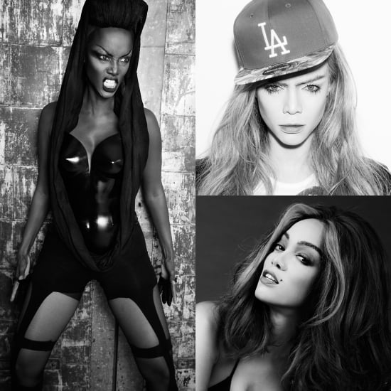 Tyra Banks as Cara, Karlie, Iman, and the World's Best Supermodels