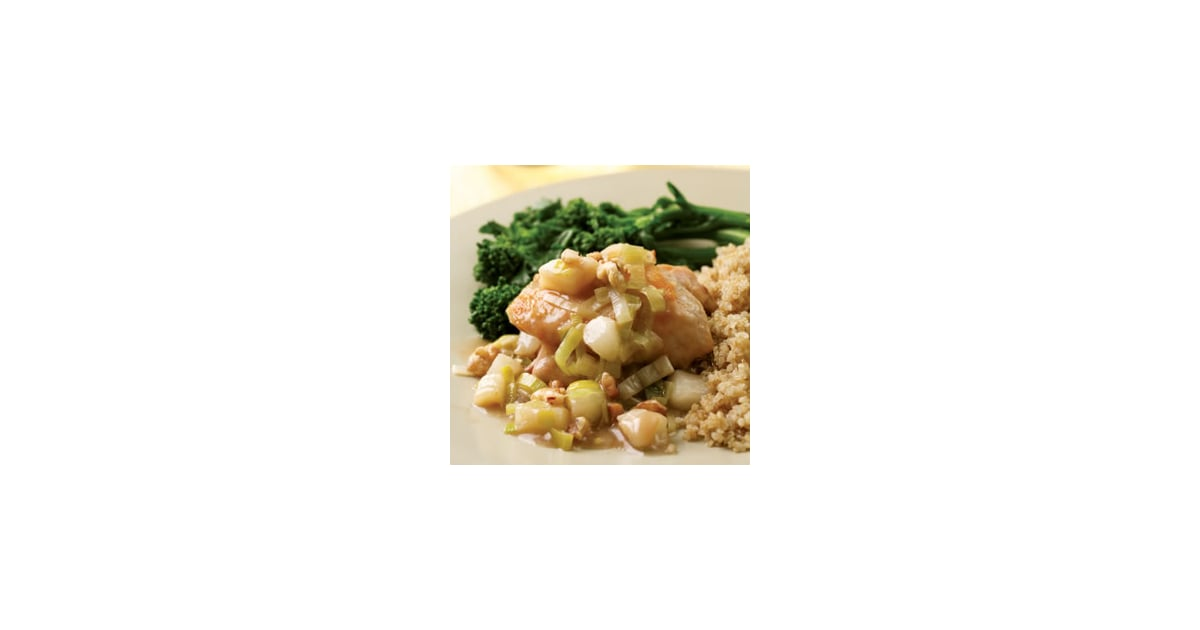 Fast & Easy Dinner: Chicken With Pear and Leek Sauce | POPSUGAR Food