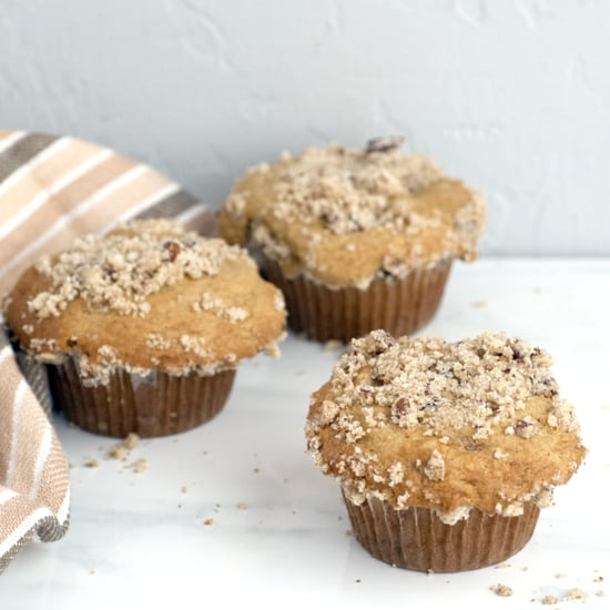 Nutty Coffee Cake Muffins