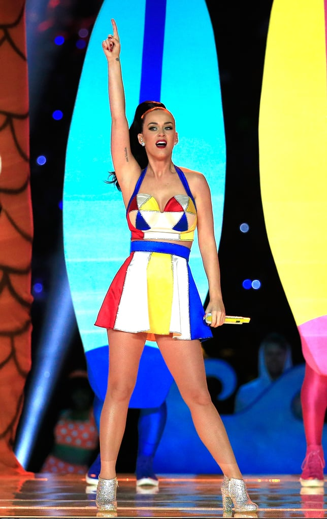 The pop star smashed her Super Bowl halftime performance in February 2015.