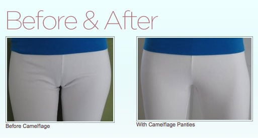 Camelflage Underwear Cover Up a Cameltoe