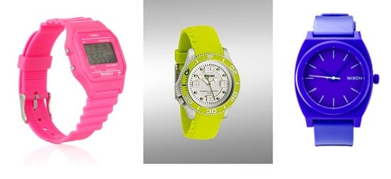 Shopping: Neon Watches On The Cheap