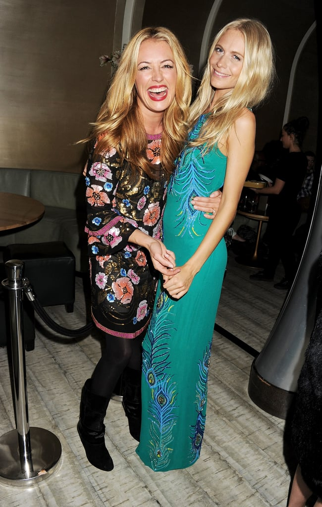 Cat Deeley and Poppy Delevingne