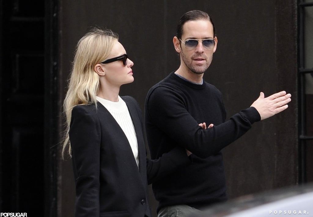 Kate Bosworth took a stroll in the West Village with boyfriend Michael Polish in NYC.