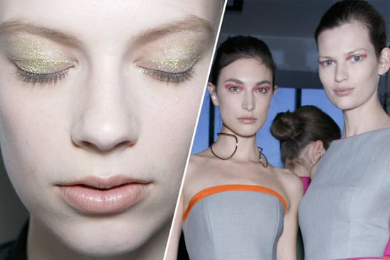 Beautygram: Tom Pecheux Explains Altuzarra's Minimalist Glitter and Lipstick Eye