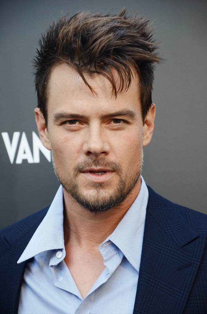 Are you melting yet? Josh sported a dapper look for the Giorgio Armani party in LA in April 2013.