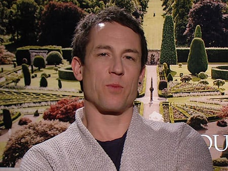WATCH: What Was the Last Book Outlander Star Tobias Menzies Read?