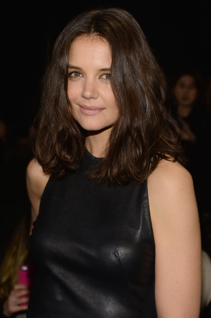 Katie Holmes at Donna Karan New York