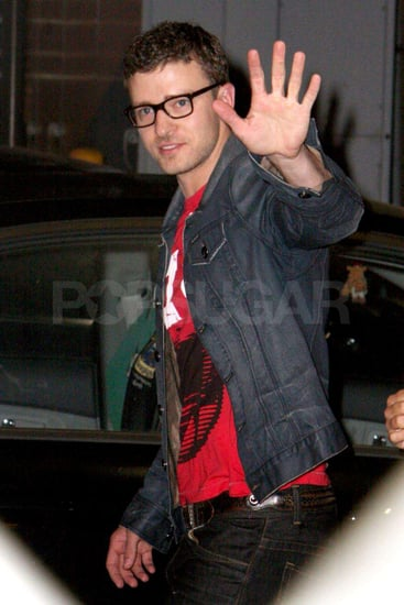 Photos and Video of Justin Timberlake on Jimmy Kimmel Live