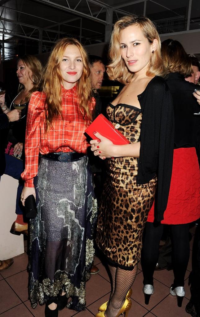 Josephine De La Baume and Charlotte Dellal