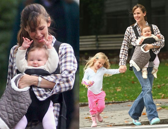 Photos of Jennifer Garner, Violet and Sera