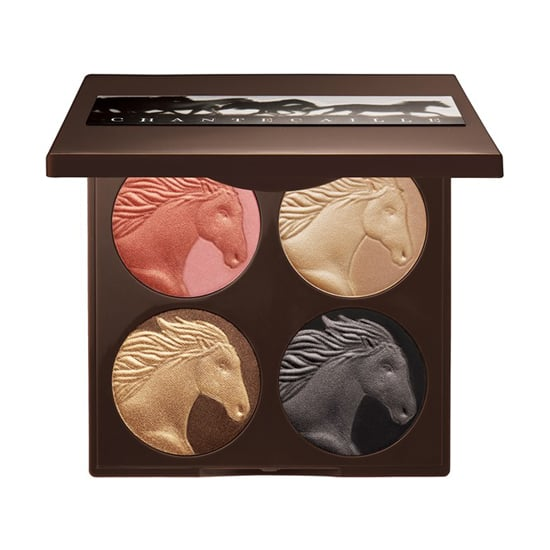 This season, Chantecaille's animal of choice is the majestic stallion. The shimmering shades in the brand's Wild Horses Palette ($83) feature flattering tones ranging from champagne gold to rosy pink.