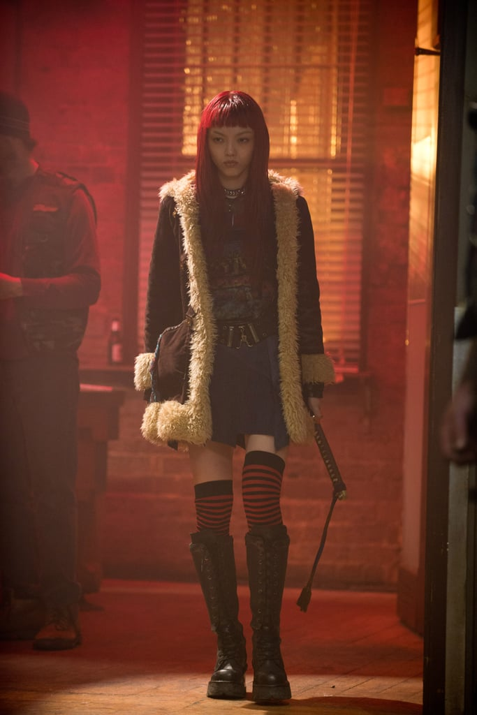 Rila Fukushima in The Wolverine.