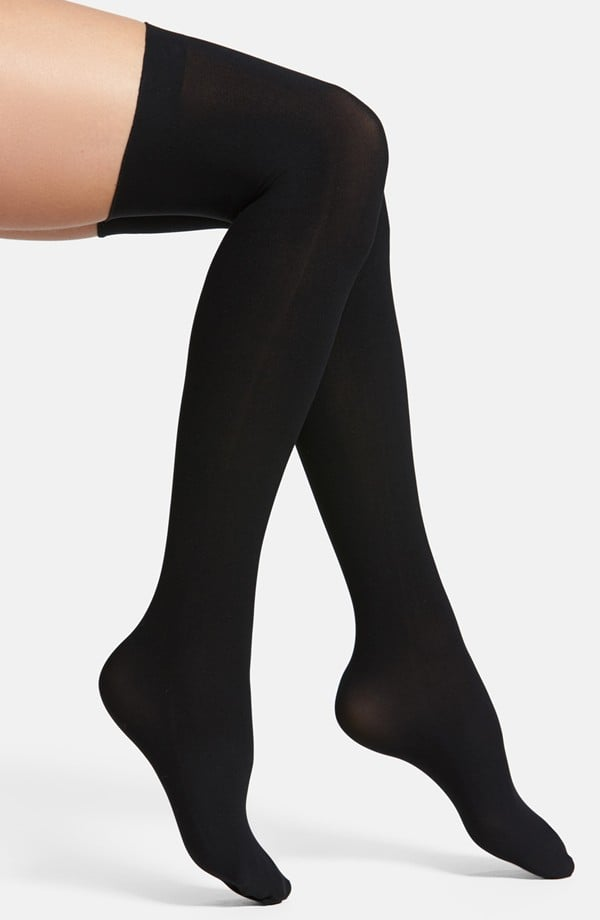 Give the gift of very happy feet with these thigh-high socks ($34).