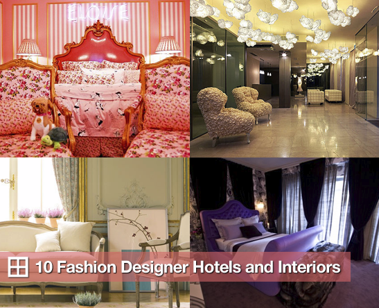 Sugar Shout Out: Luxurious Hotel Rooms With a Designer View